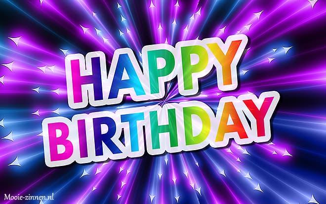 Happy birthday man vrouw