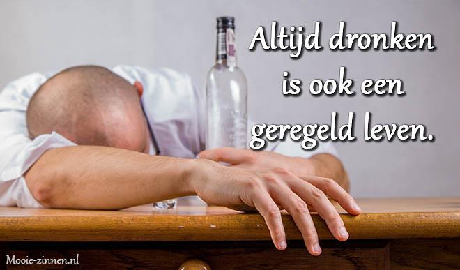 Mooie teksten over drank, alcohol, bier en wijn