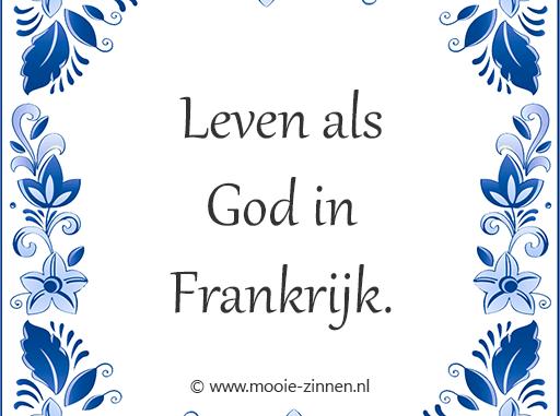 Bekende Spreekwoorden Over God