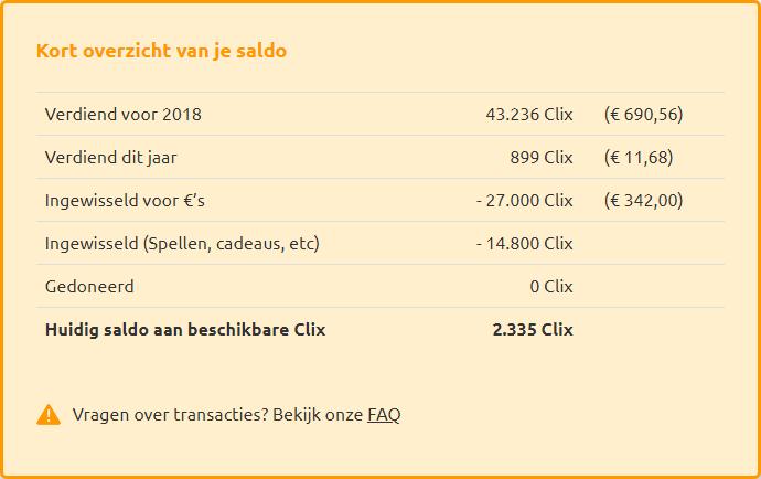 Geld verdienen met Euroclix!