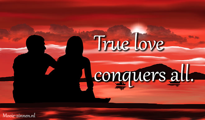 True love conquers all