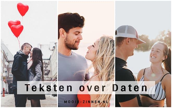 Teksten over daten