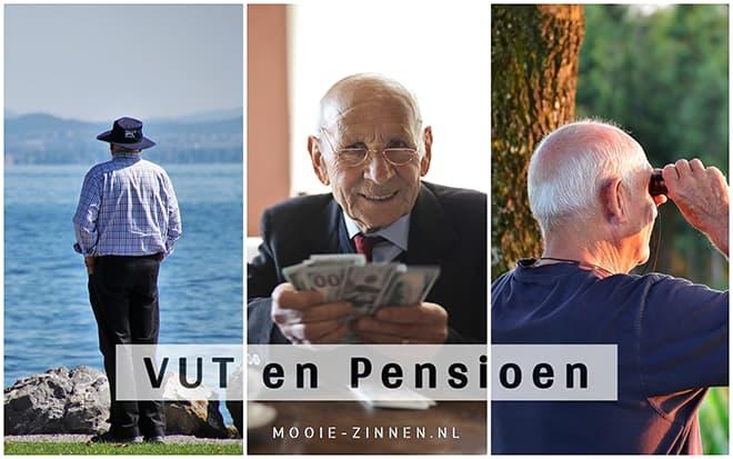 Teksten over VUT en pensioen